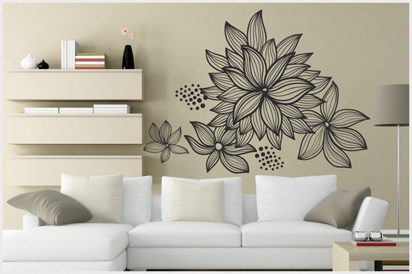 Disegni murali per cucina idee per la casa - Decorazioni murali per interni ...