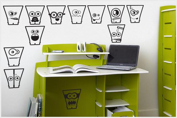 Wrapitup adesivi murali bambini kd110 wall stickers for Stickers armadi bambini