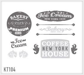 wrapitup - adesivi murali: cucina kt104/ wall stickers ... - Disegni Per Cucina