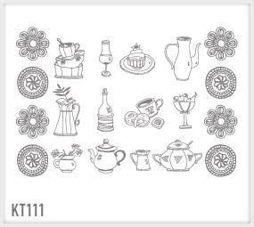 WRAPitUP - Adesivi Murali: Cucina KT111/ Wall stickers, Decorazioni ...