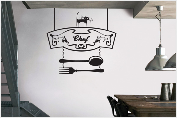 Wrapitup adesivi murali cucina kt141 wall stickers for Stickers murali per piastrelle cucina
