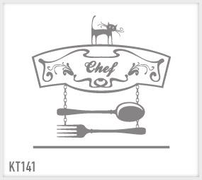 wrapitup - adesivi murali: cucina kt141/ wall stickers ... - Disegni Per Cucina